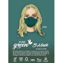 Mascarilla Verde Pure Green
