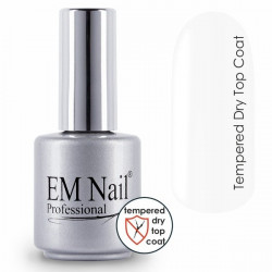 Tempered Dry Top Coat EM Nail