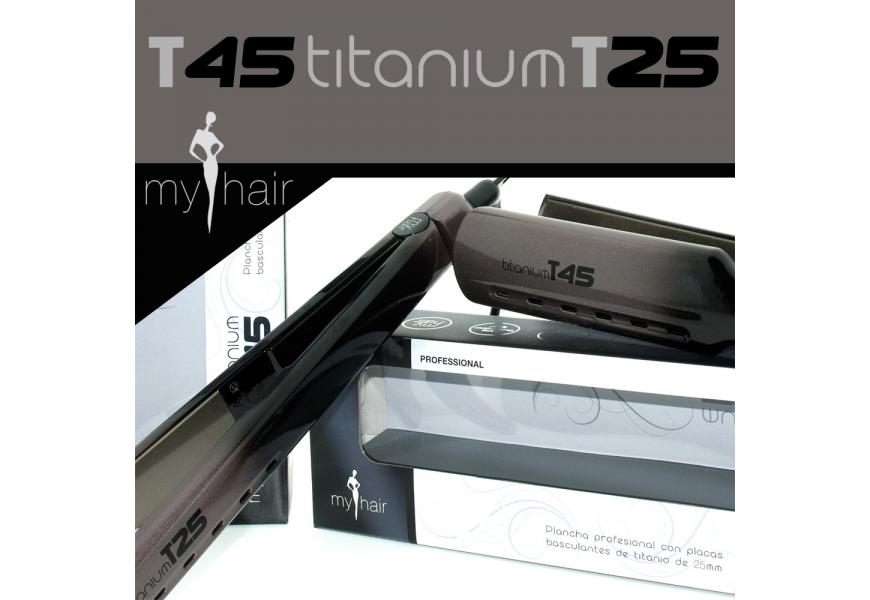 NOVEDAD para este Otoño/Invierno nueva línea de planchas profesionales titanium de My Hair